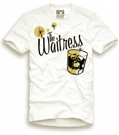 Playera The waitress Hombre Old Fashion