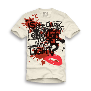 Playera Rock'n'love Hombre Dark enough