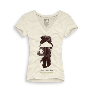 Playera Luke Castillo Mujer Old Fashion