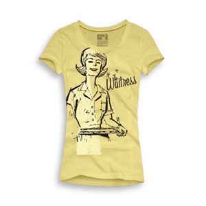Playera The waitress Mujer